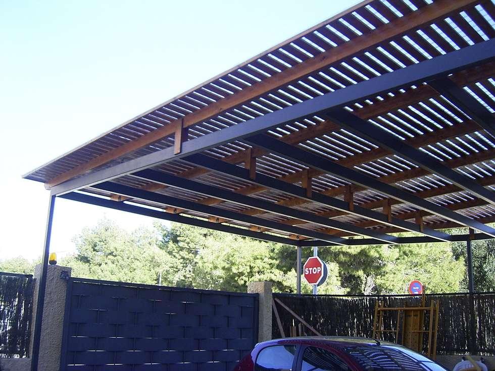 Fotos de decoraci n y dise o de interiores homify - Garajes de metal ...