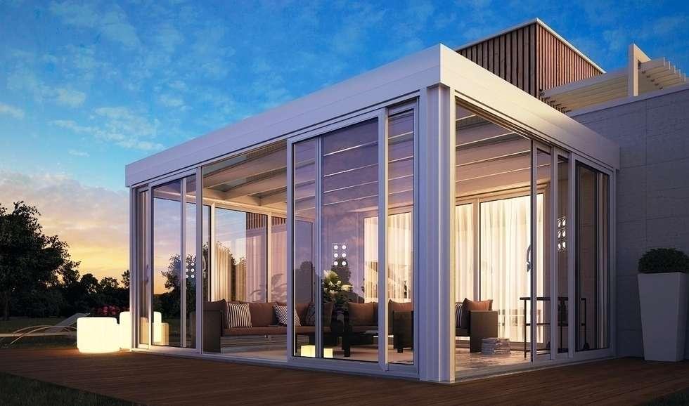 Idee arredamento casa interior design homify - Giardino d inverno terrazza ...