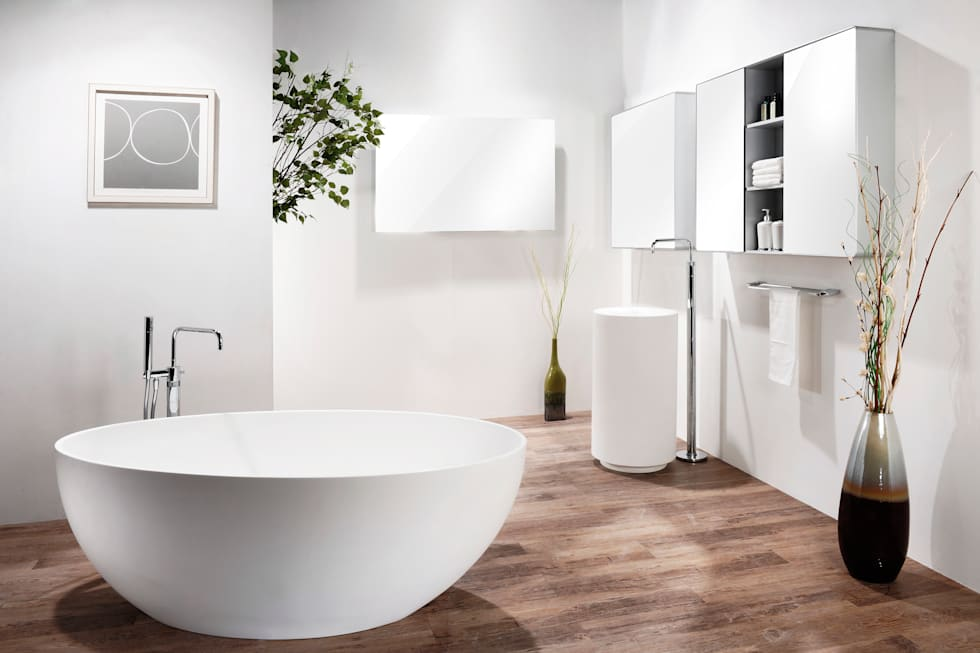모던욕실 인테리어: Saturnbath의  화장실
