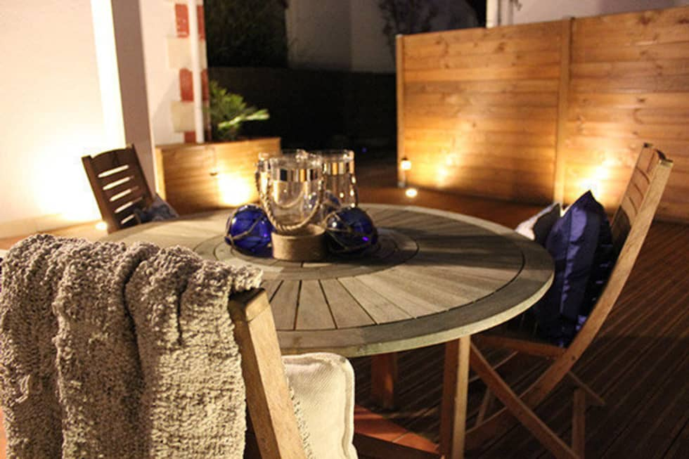 Moderner balkon veranda terrasse bilder von monicacordova homify - Foto terrasse bois ...