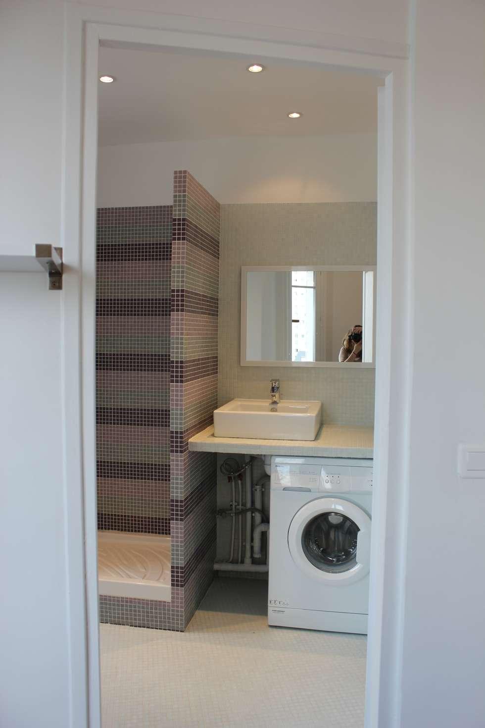 salle de bain : Salle de bains de style  par monicacordova