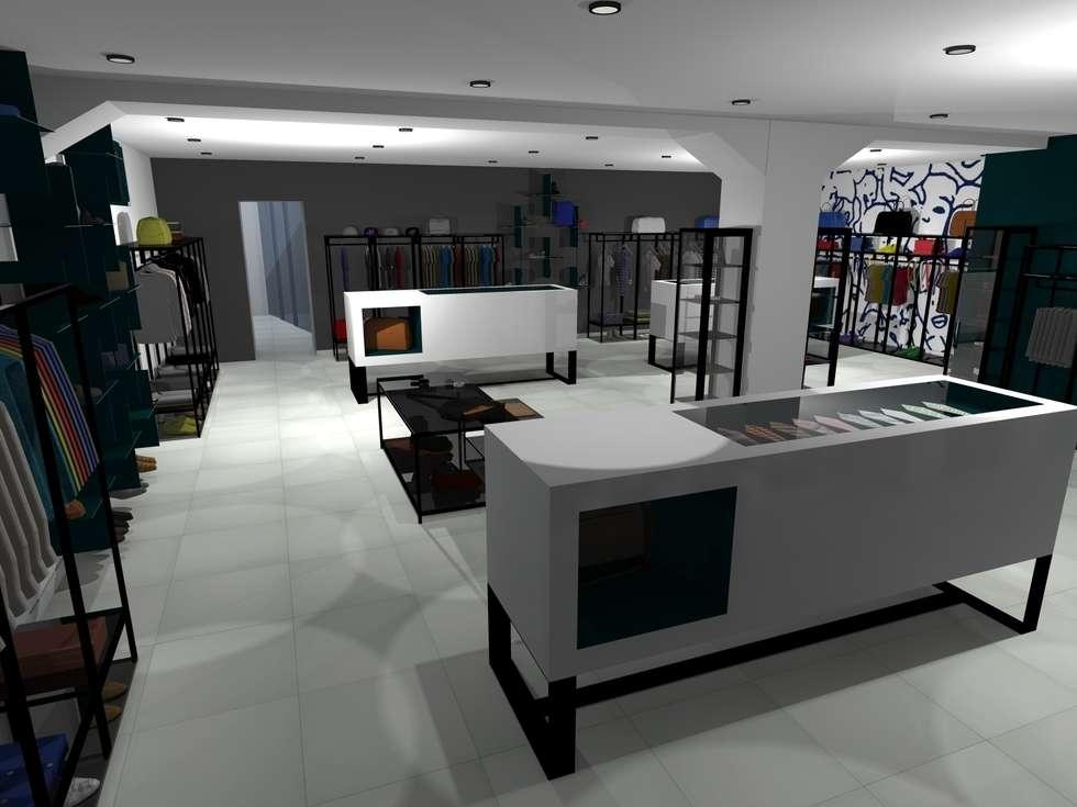 allestimento negozio: Negozi & Locali commerciali in stile  di architè