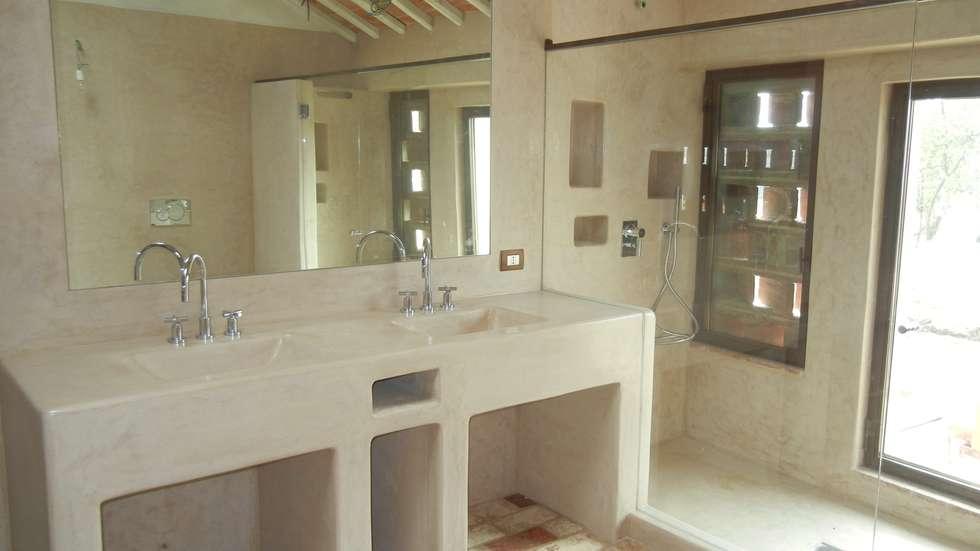 Idee arredamento casa interior design homify - Bagno color tortora ...