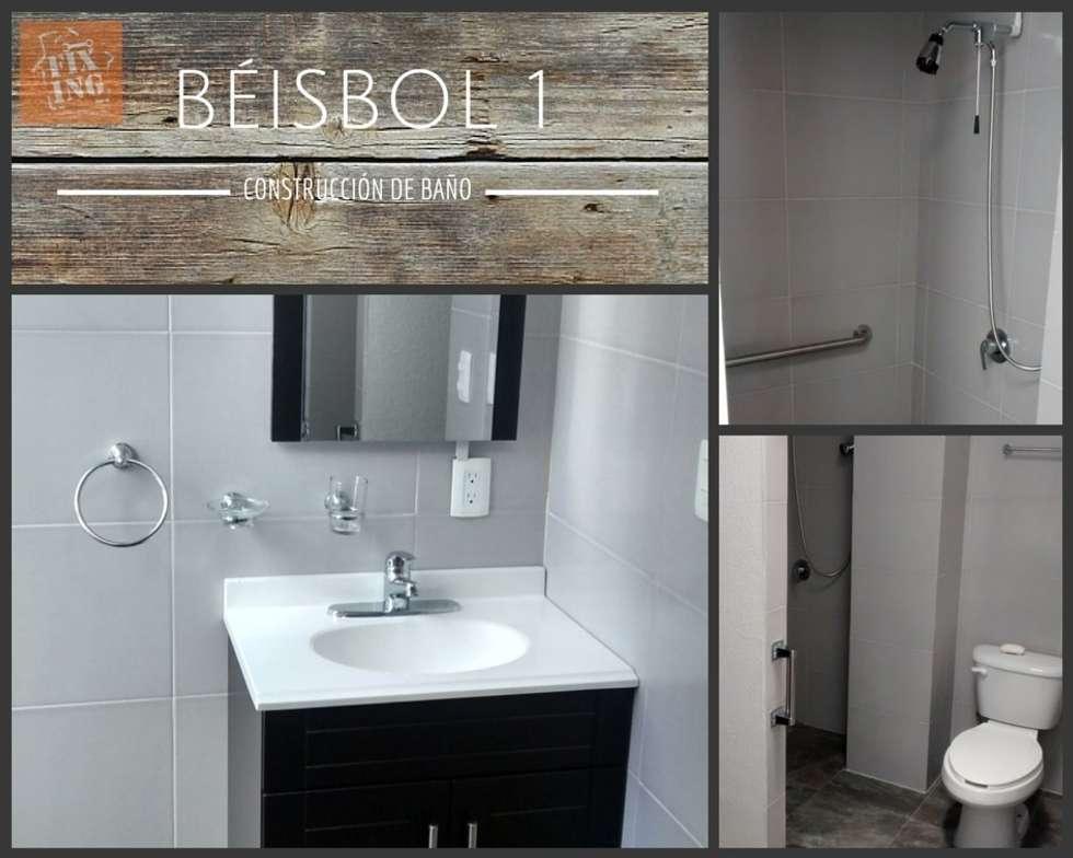 Baño: Baños de estilo  por Fixing