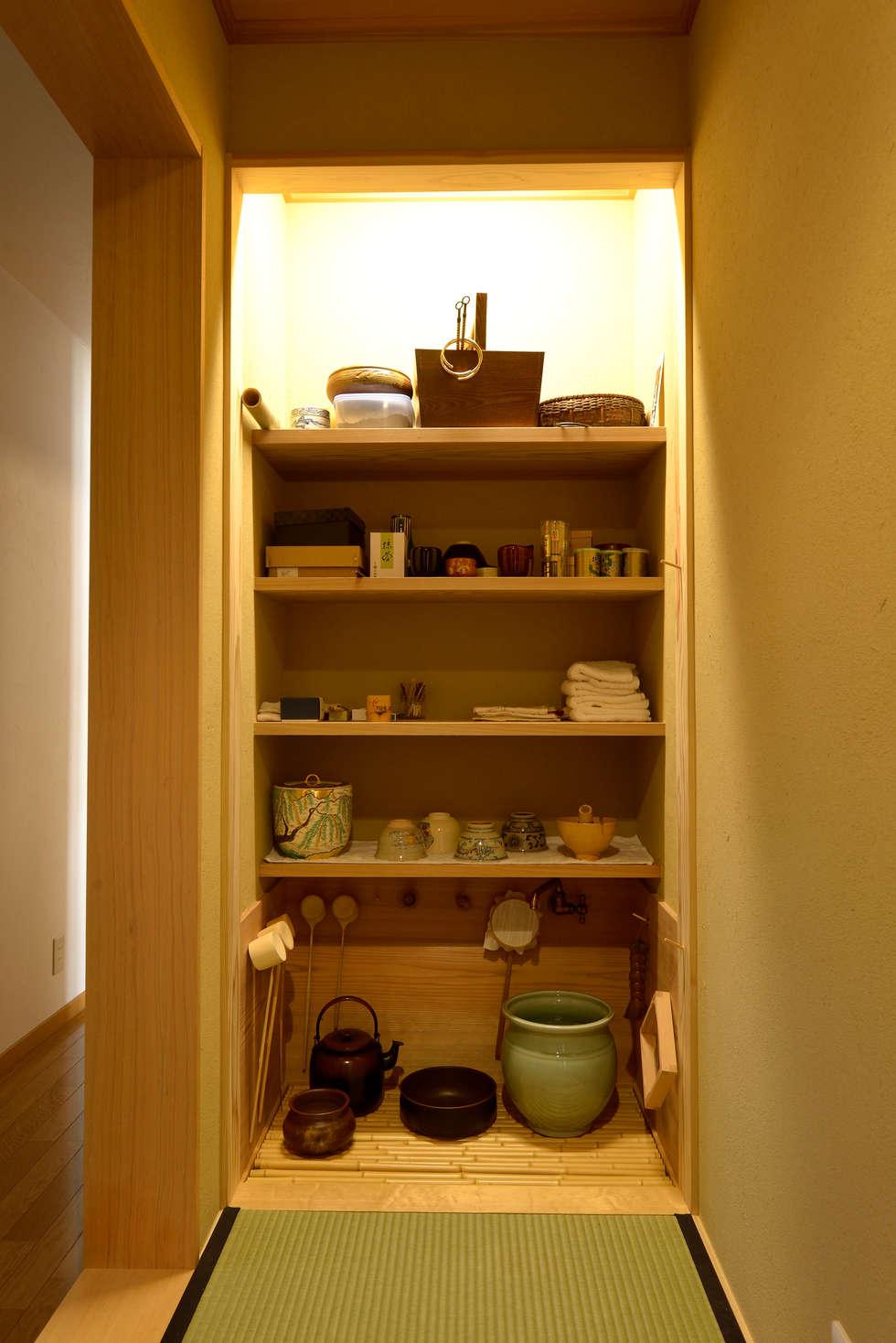茶室「一期庵」: ATELIER IDEAが手掛けたキッチンです。