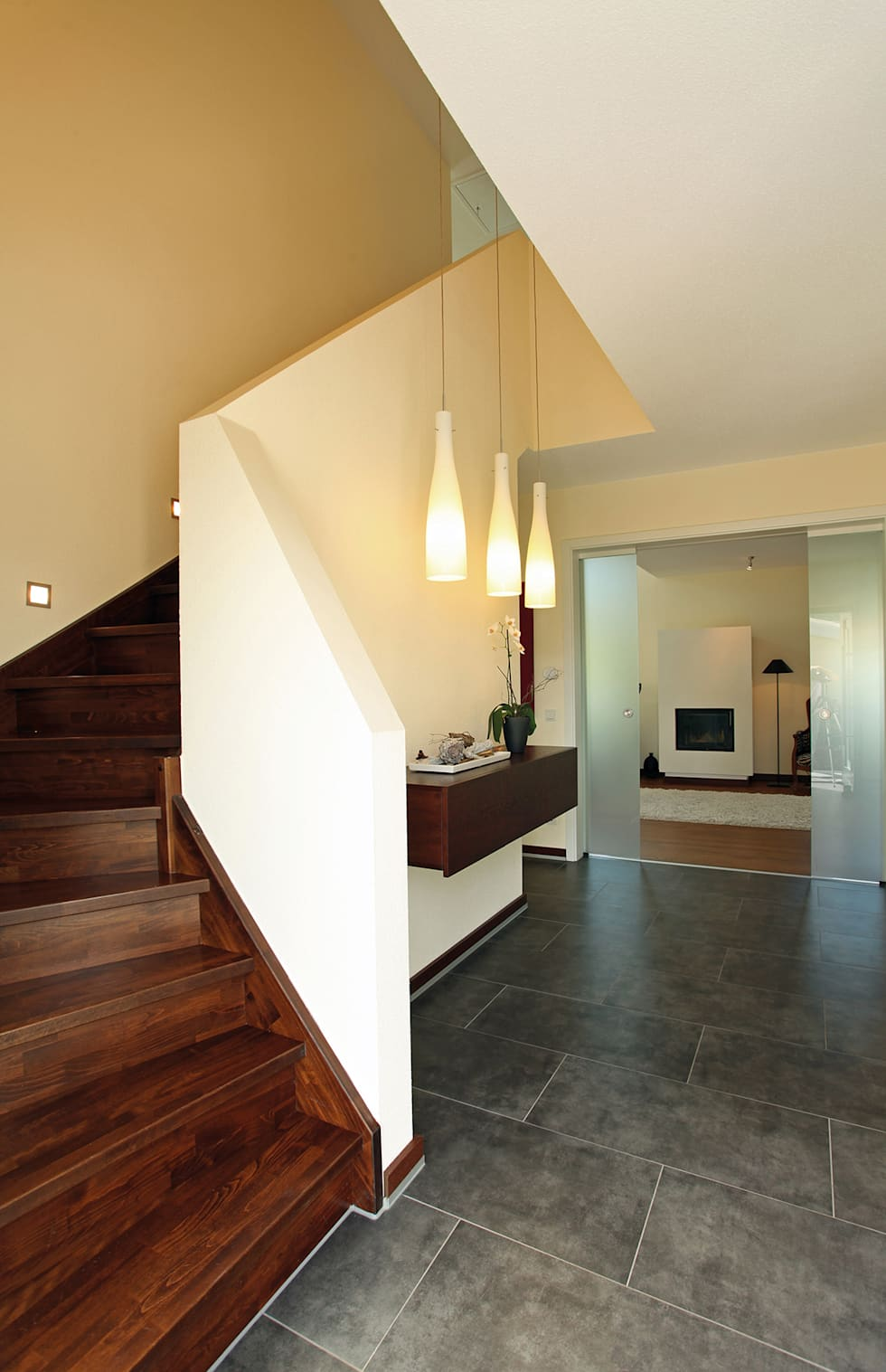 Wohnideen interior design einrichtungsideen bilder for Farbideen flur