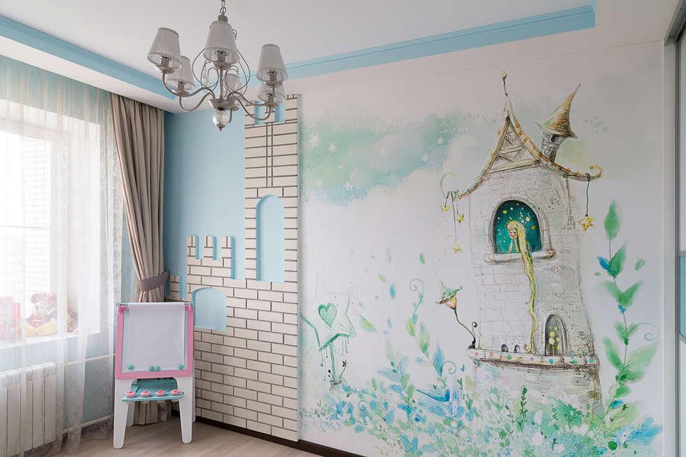 Квартира 74: Детские комнаты в . Автор – Cameleon Interiors