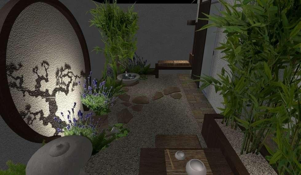 Fotos de decora o design de interiores e remodela es for Homify jardines pequenos
