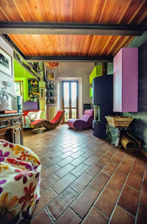 In soggiorno con brio: Soggiorno in stile in stile Eclettico di Studio Prospettiva