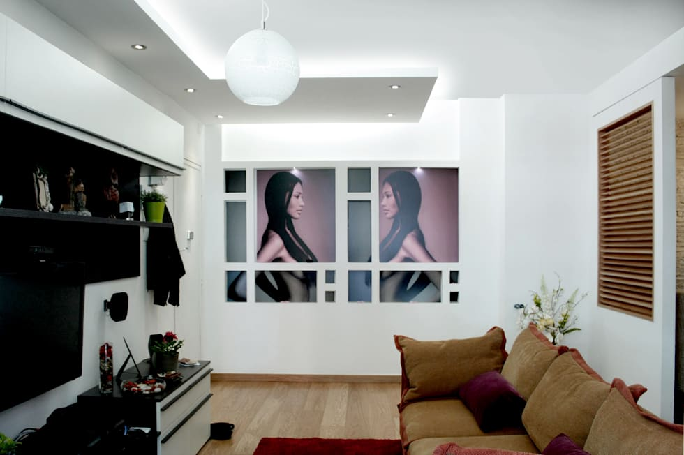 Idee arredamento casa interior design homify for Cartongesso salone moderno