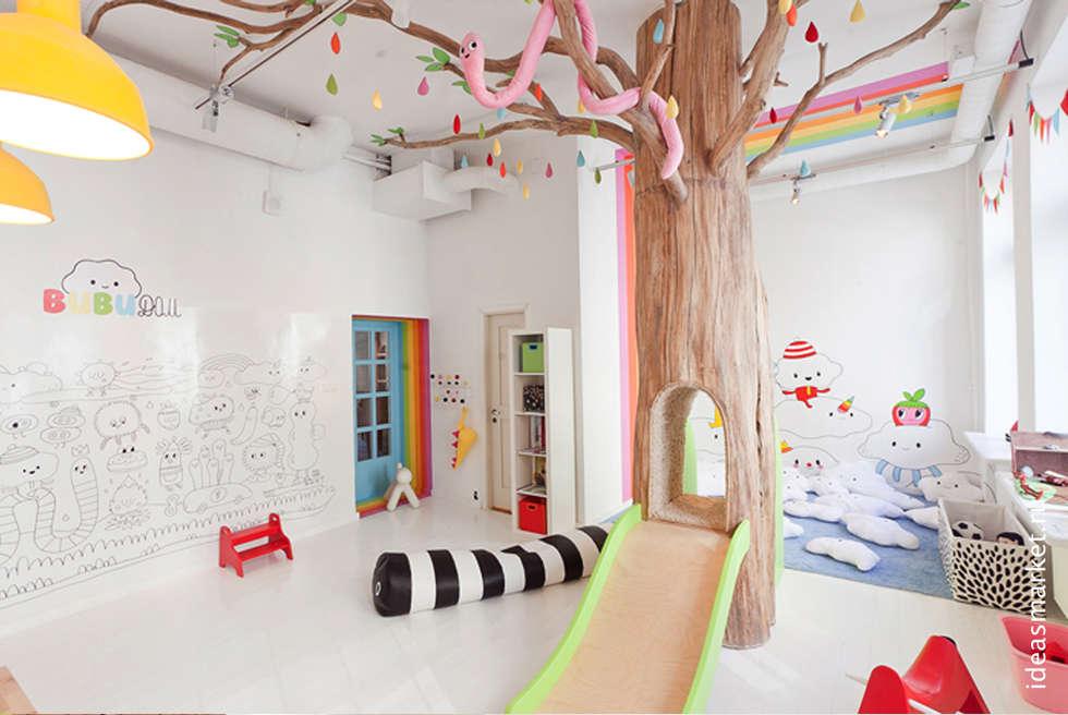Детская комната в ресторанном проекте Biblioteka в Санкт-Петербурге: Детские комнаты в . Автор – IdeasMarket