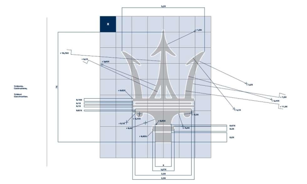 Maserati. Progetto del marchio e immagine coordinata, autore Claudio Bettini.: Studio in stile in stile Industriale di bettini design