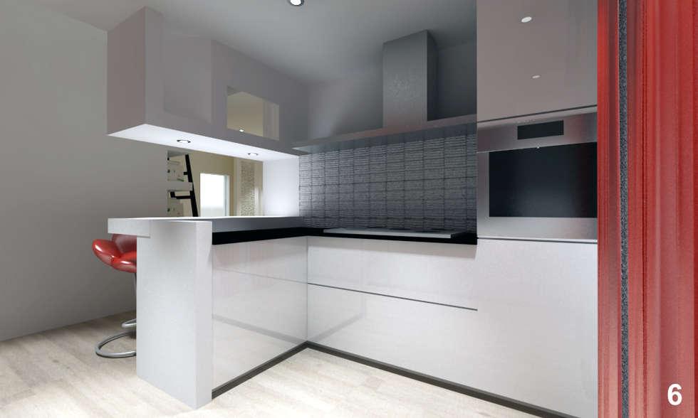 Idee arredamento casa interior design homify for Piani di progettazione dell angolo cottura