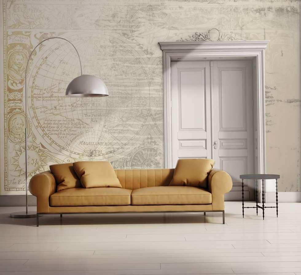 Amerigo Vespucci: Soggiorno in stile in stile Moderno di LivingDECO