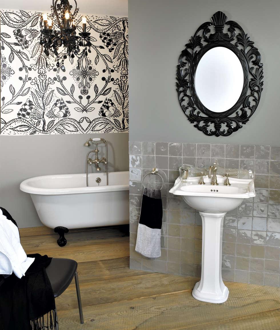 Salle de bain Montmartre: Salle de bains de style  par HORUS