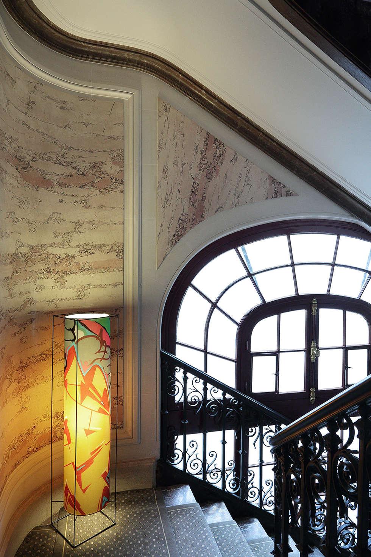 lampe cage: Salon de style de style Moderne par touchoflight