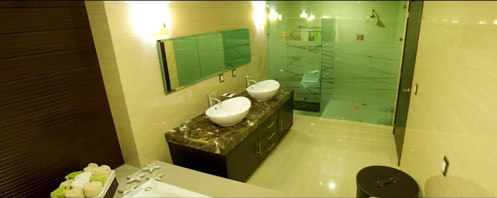 Baño Principal San Patricio: Baños de estilo  por CONSASUR ARCHITECTURE STUDIO