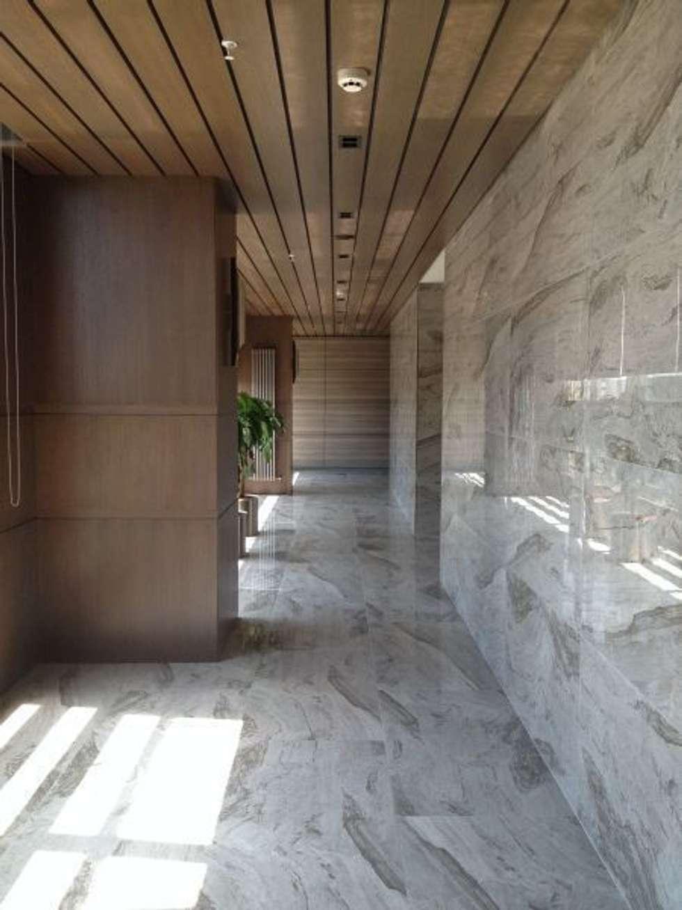 The Big House Mimarlık  – Tekstilbank genel merkezi:  tarz Ofis Alanları