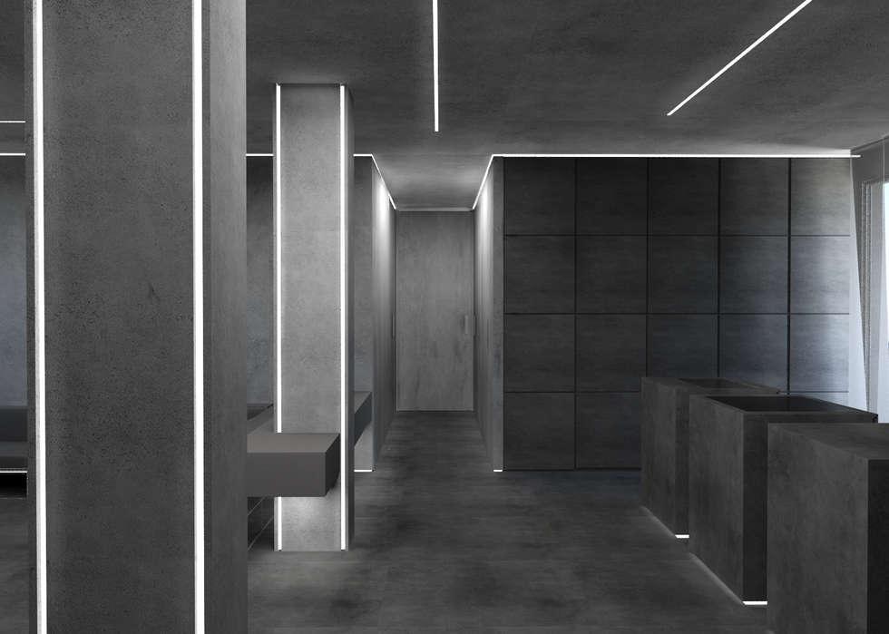 ingresso corridoio: Ingresso & Corridoio in stile  di Giemmecontract srl.