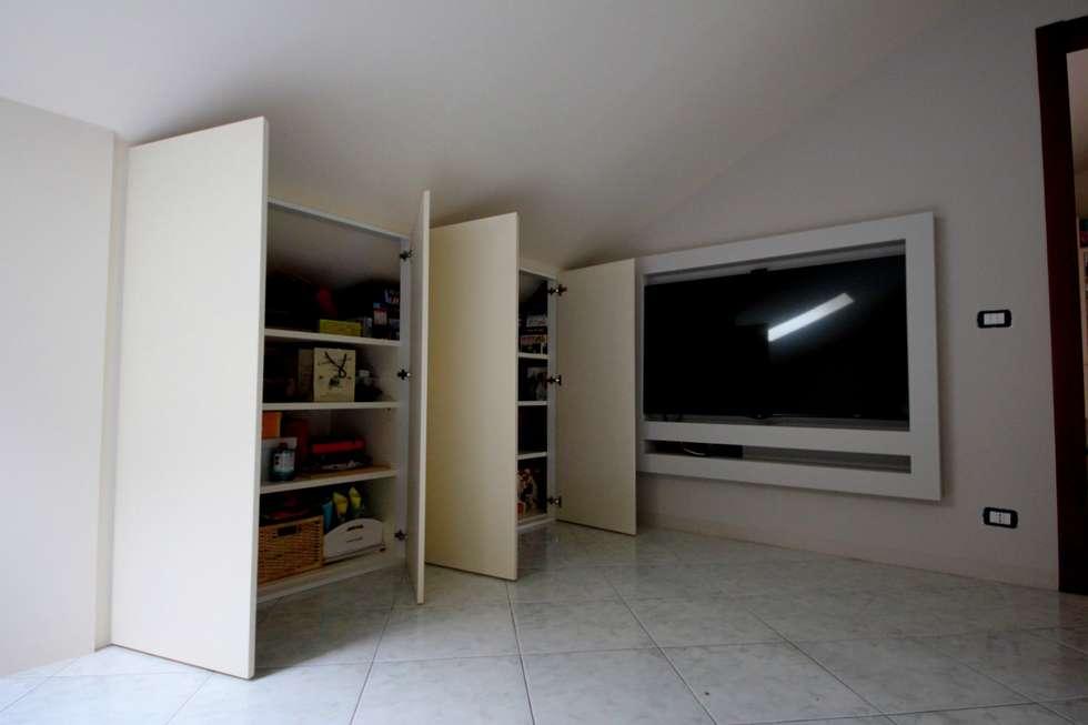 Idee arredamento casa interior design homify for Arredo mansarda moderno