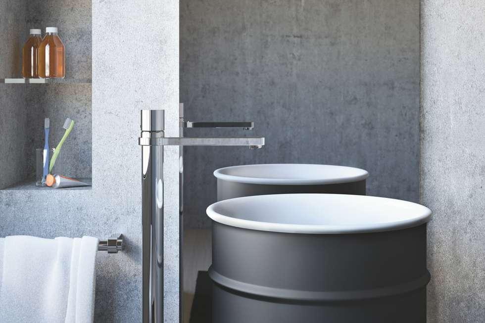 Idee arredamento casa interior design homify - Rubinetteria lavabo bagno ...