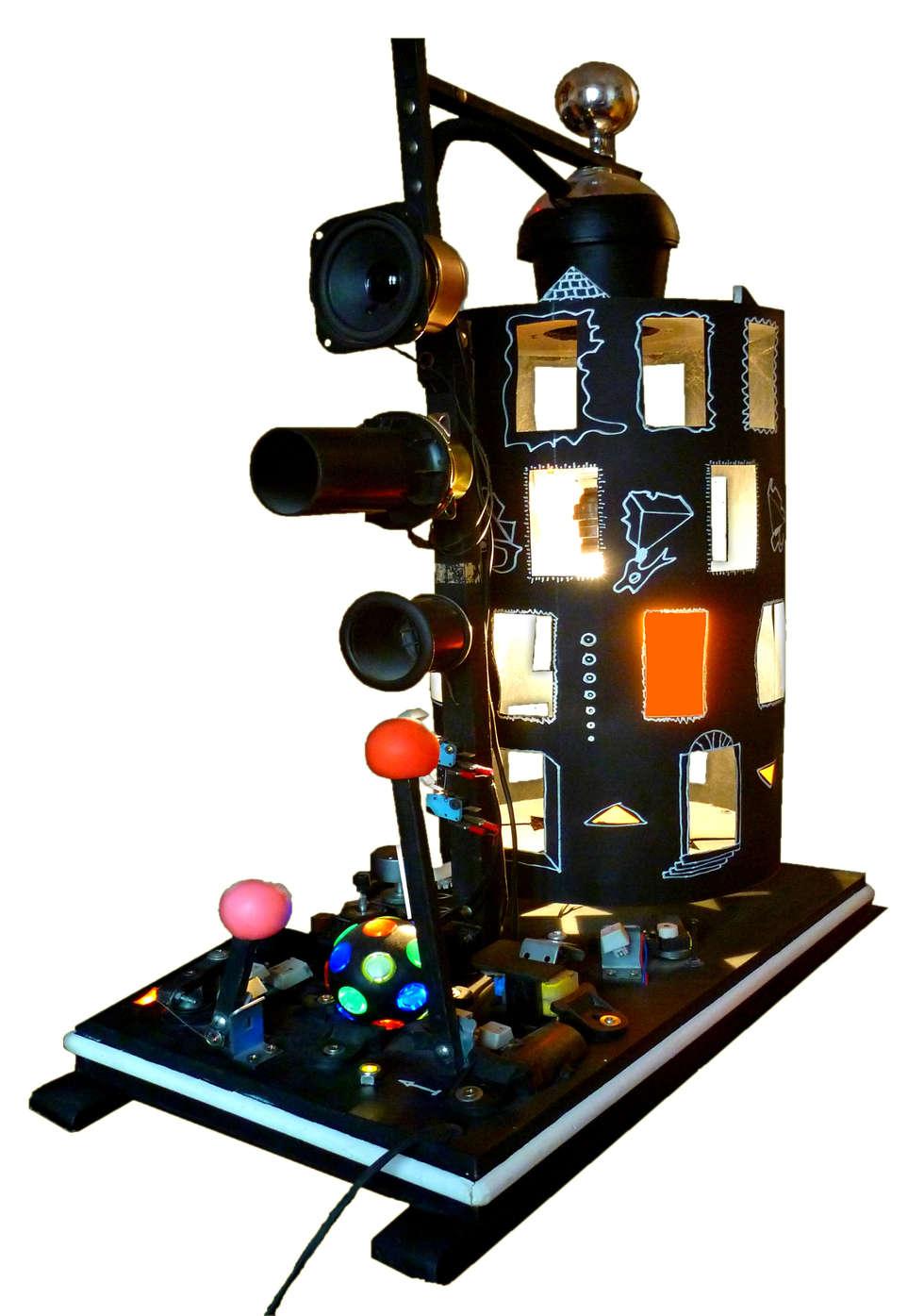 Dream machine: Centre d'expositions de style  par Atelier Lunatik