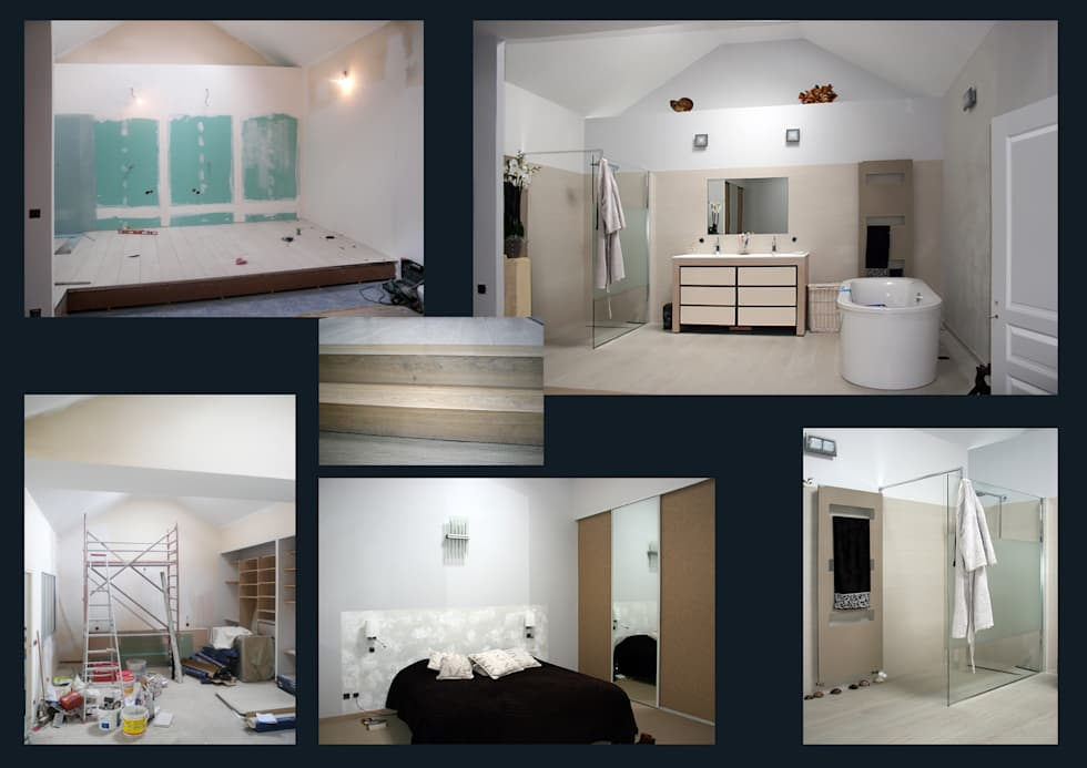 Master bedroom: Chambre de style de style Moderne par I.D.E.E