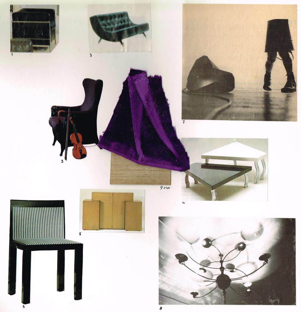 Feuille de style: Salon de style de style Moderne par BasZ design