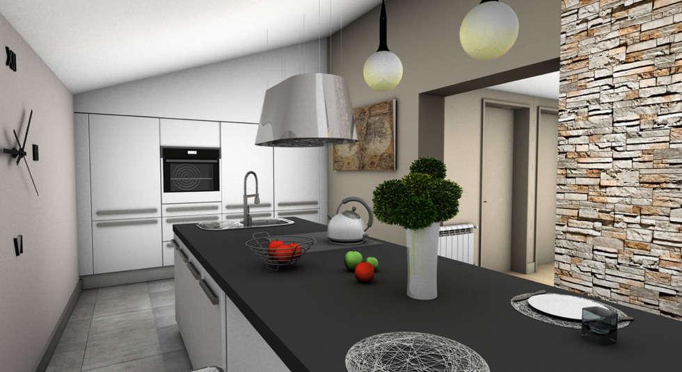 CUISINE 2: Cuisine de style de style Minimaliste par PYXIS Home Design