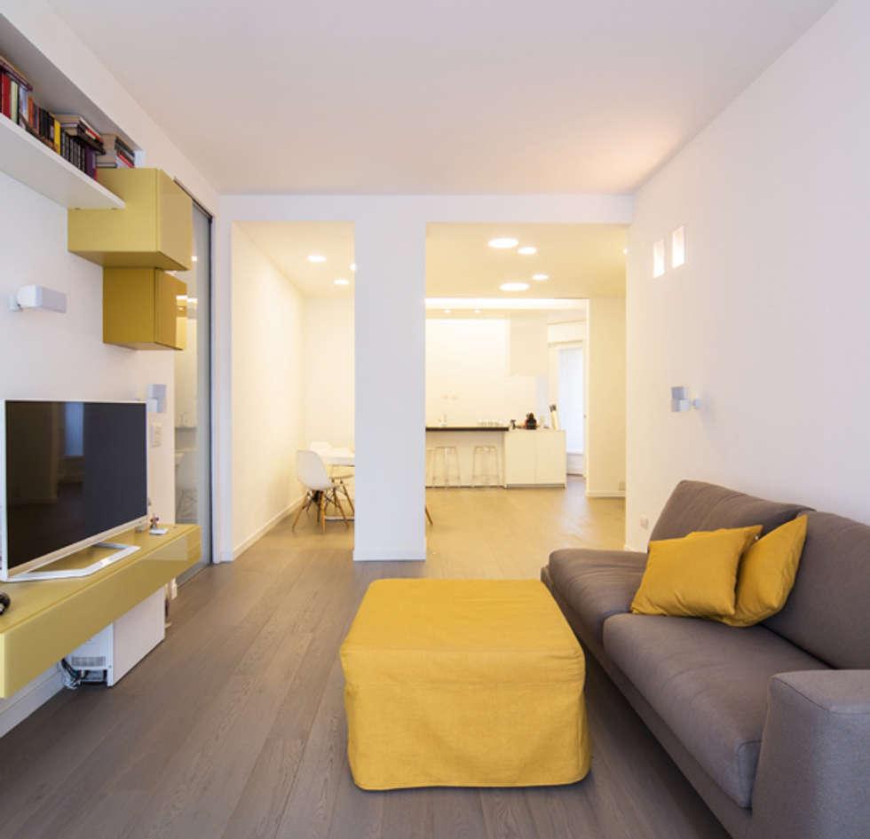 Idee arredamento casa interior design homify for Soggiorno minimalista