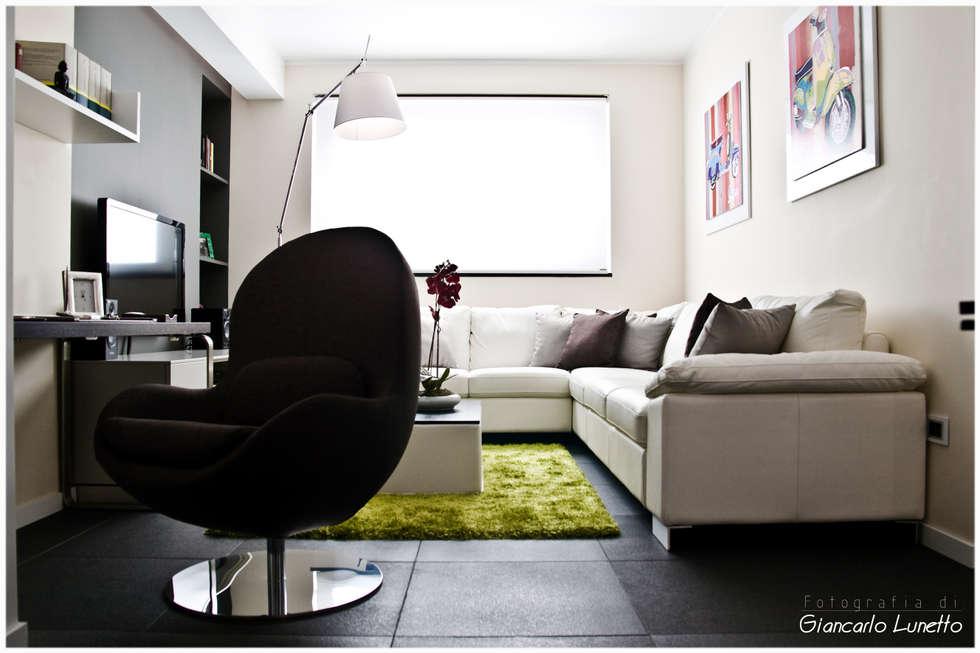 idee arredamento casa & interior design | homify - Zona Studio In Soggiorno