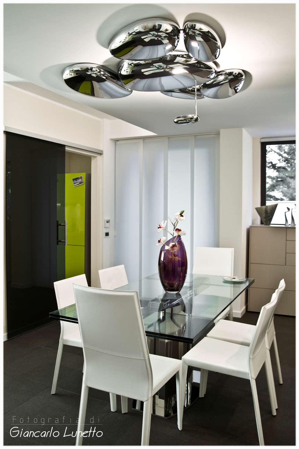 Zona pranzo sala da pranzo in stile in stile moderno di ignazio buscio architetto homify - Zona pranzo design ...
