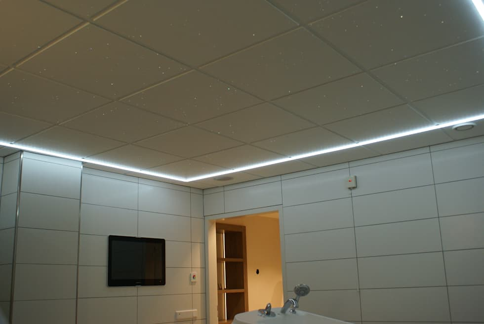 Sterrenhemel verlichting plafond led glasvezel star ceiling fiber ...