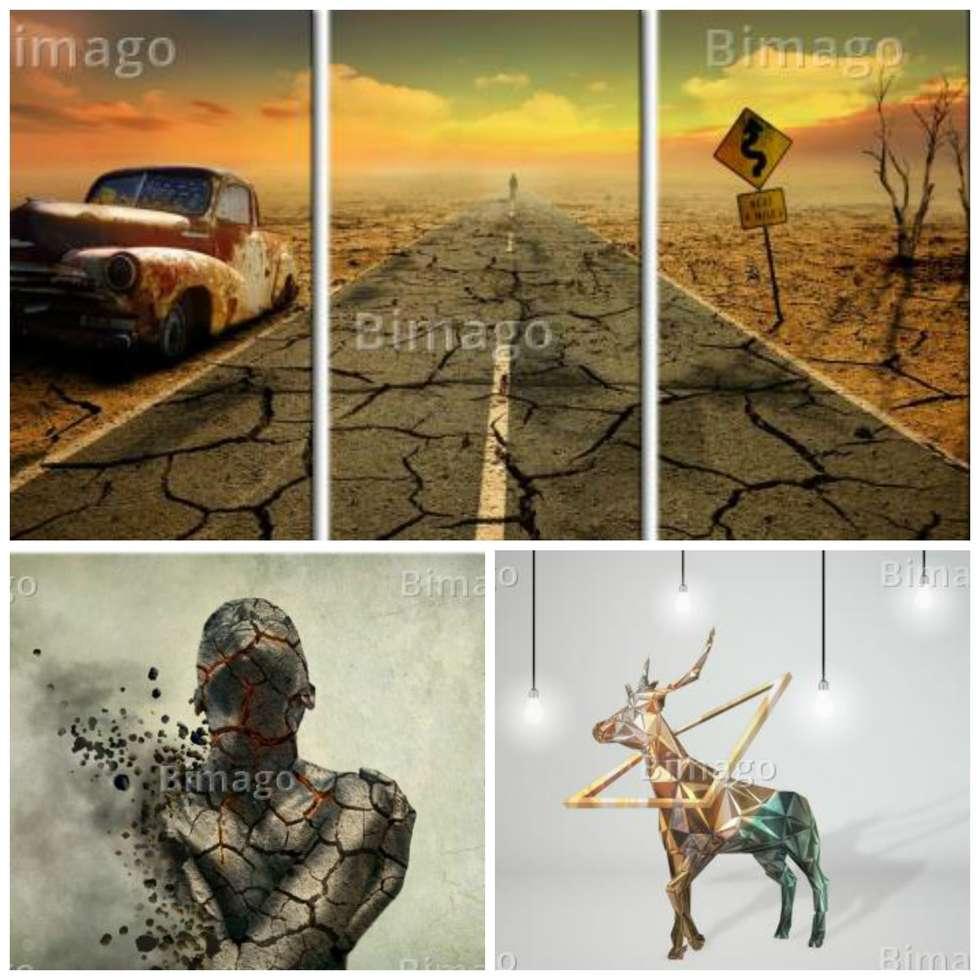 Ideas im genes y decoraci n de hogares homify - Bimago cuadros modernos ...