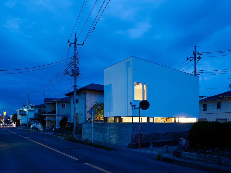 小野里信建築アトリエ의  주택