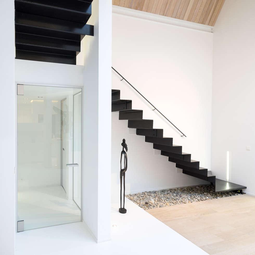 Moderne glazen deur op maat:  Glazen deuren door Anyway Doors