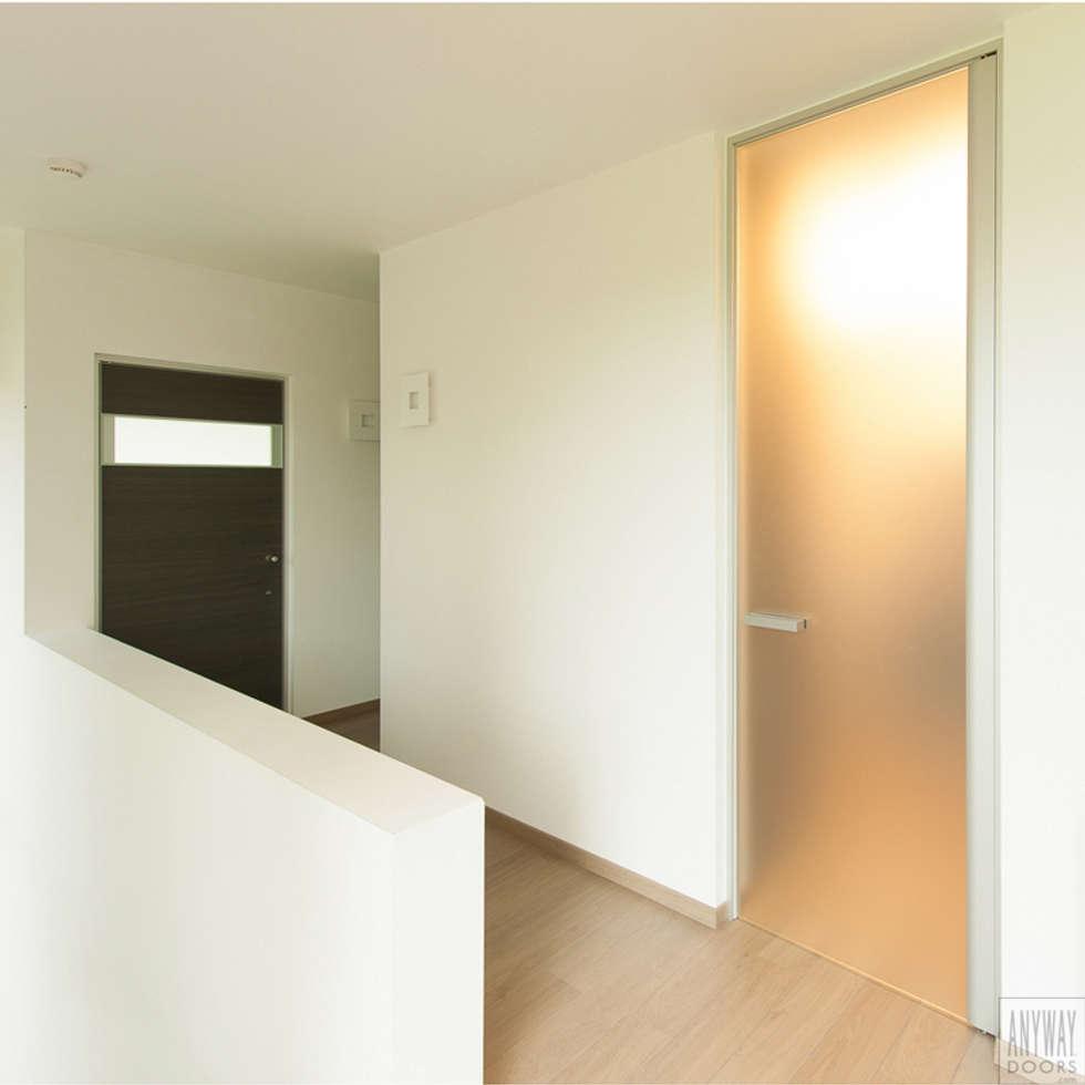 Mat glazen deur op maat:  Glazen deuren door Anyway Doors