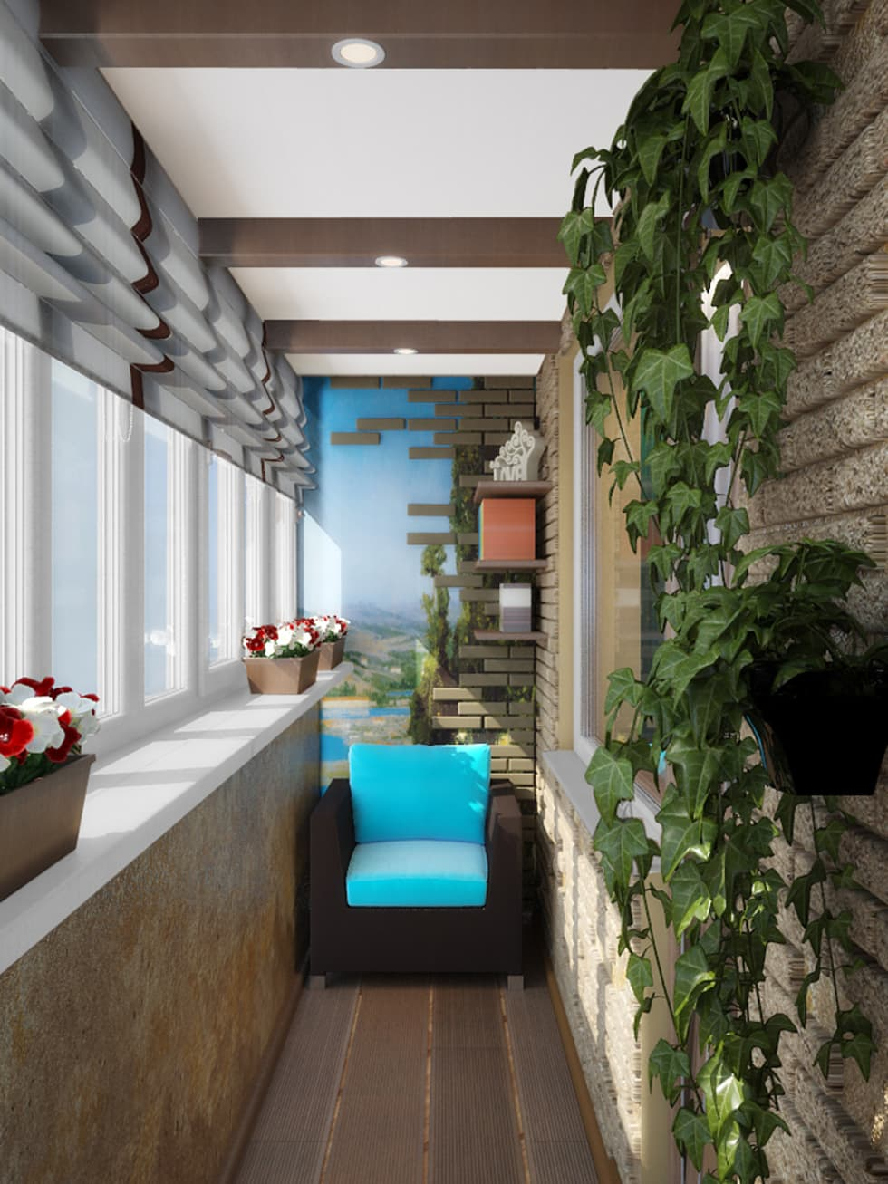 Fotos de terrazas de estilo en de симуков святослав частный .