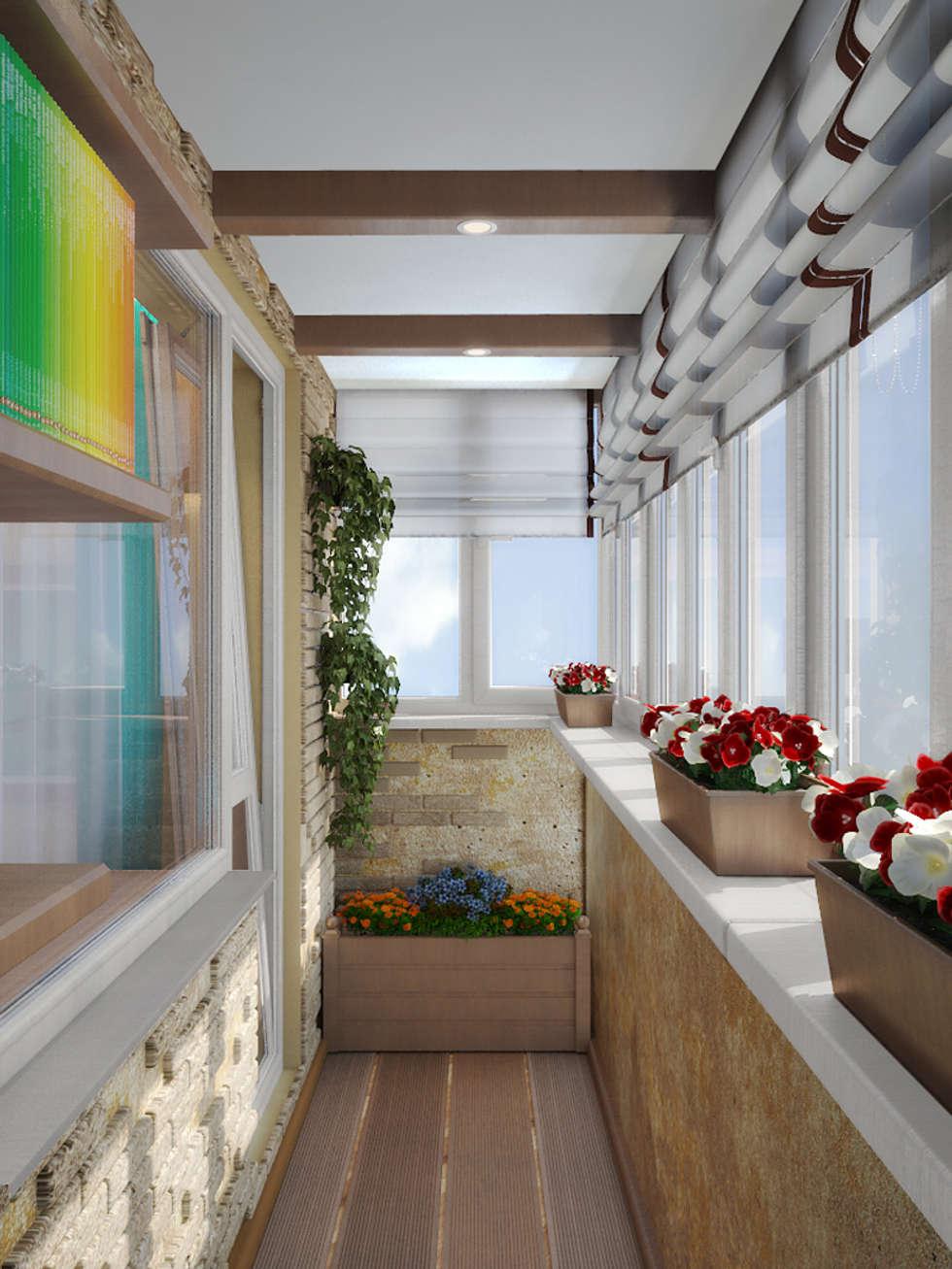 """Результаты поиска по запросу """"яркий интерьер балкона"""" в Янде."""