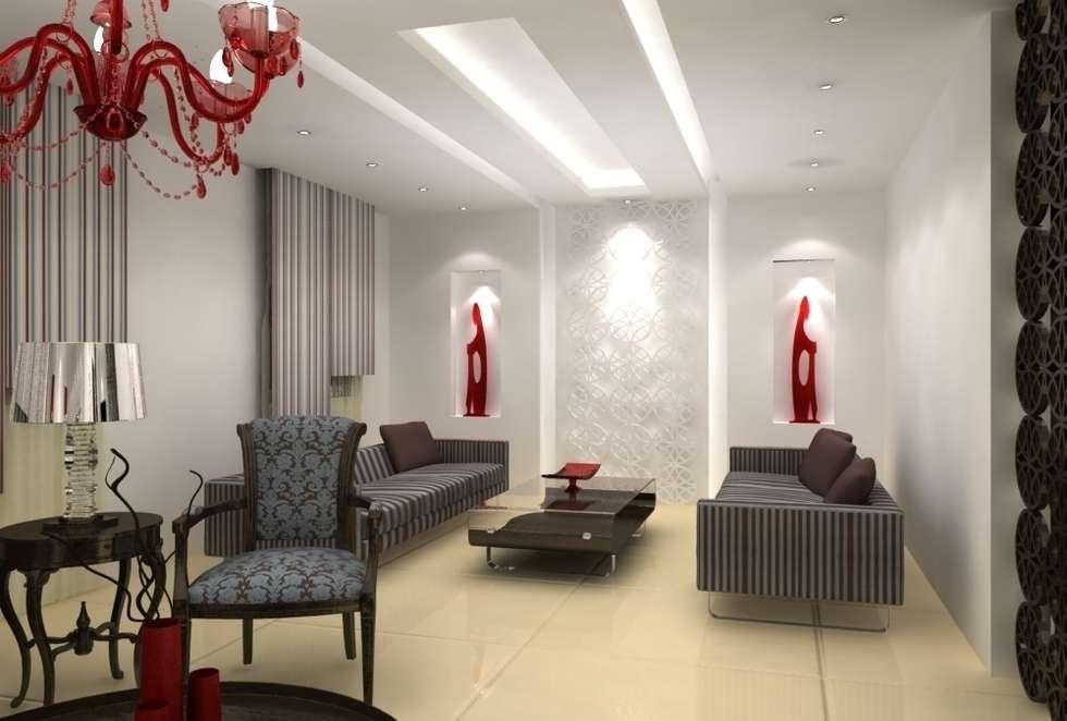 Deuxième salon: Salon de style de style Classique par michel bandaly