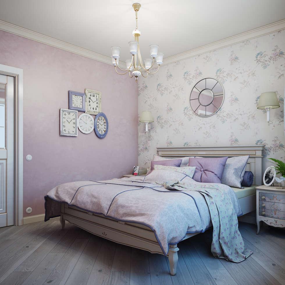 Chambre de style de stile Rural par Анна Теклюк