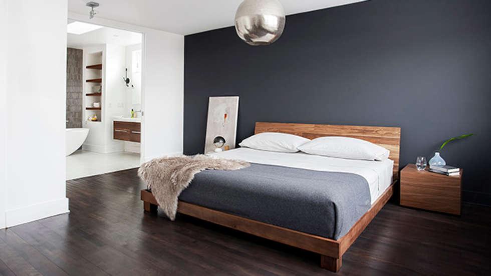 TMR Residence: Chambre de style de style Moderne par Catlin stothers Interior