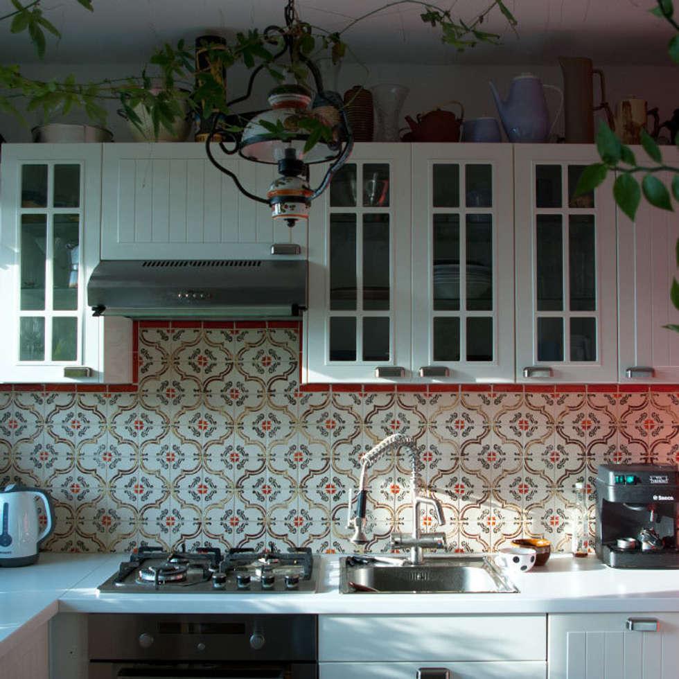 Dekory Wzory: styl , w kategorii Kuchnia zaprojektowany przez Dekory Nati