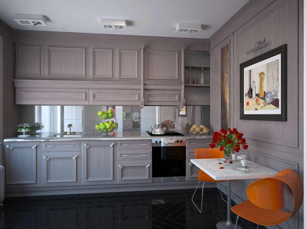 Кухня: Кухни в . Автор – Krupp Interiors