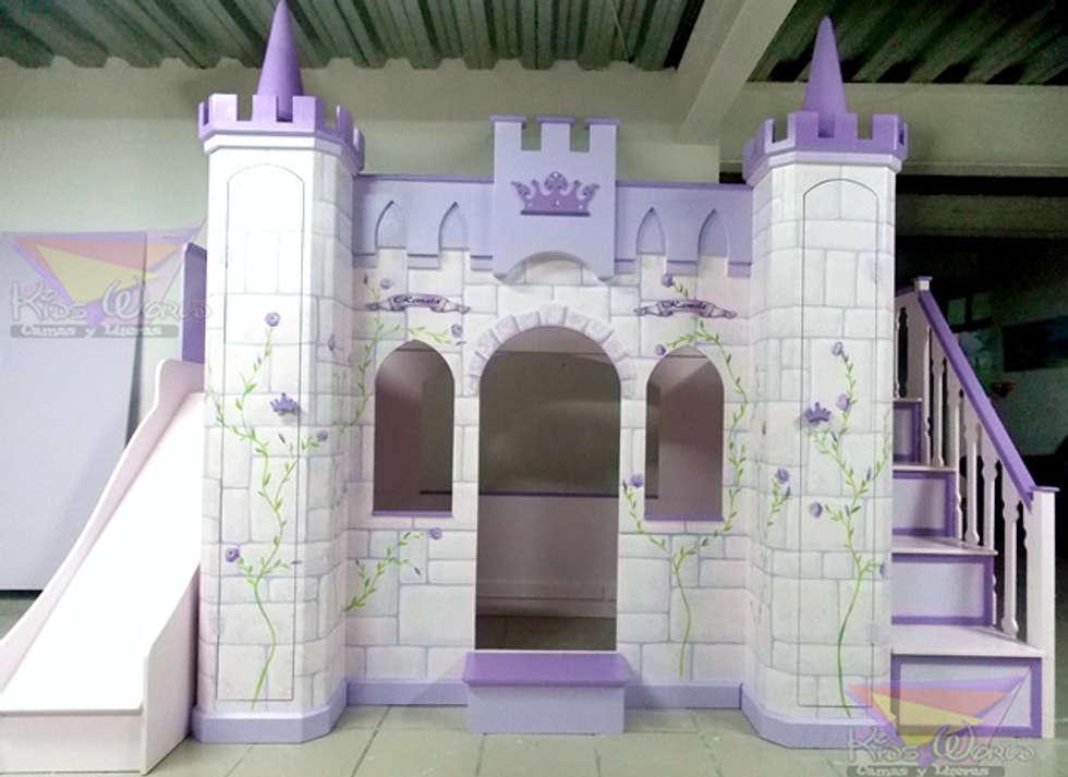 hermoso castillo litera para nias infantiles de estilo por camas y literas infantiles kids
