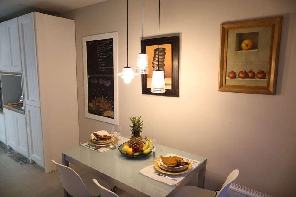Cocinas de estilo por l nea 3 cocinas madrid homify for Diseno de cocinas madrid