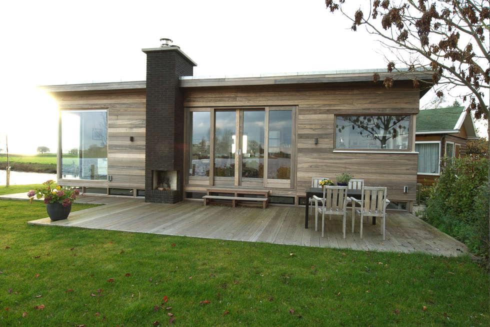 Voorzijde 2: moderne Huizen door Vos | Hoffer | vdHaar architecten