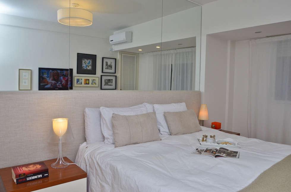 Piso en Palermo I: Dormitorios de estilo moderno por GUTMAN+LEHRER ARQUITECTAS