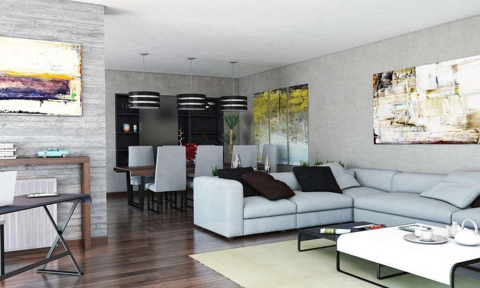 Sof s l mparas alfombras decoran y separan salones de - Alfombras para salones modernos ...