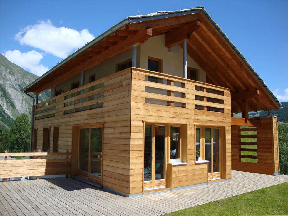 Idee arredamento casa interior design homify for Villa legno